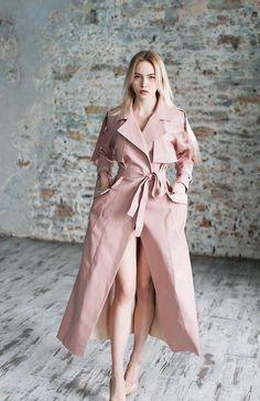 Items similar to Vegan leather coat, maxi coat, spring coat, PU leather, trench coat on Etsy Warm Outfits, Chic Outfits, Modest Fashion, Fashion Dresses, Iranian Women Fashion, Trench Coat Style, Mode Mantel, Maxi Coat, Royal Clothing