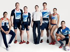 Stella McCartney and a portion of Team GB's Adidas performance apparel from the 2012 London Olympics. Photo: Stella McCartney