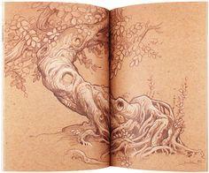 Justin Gerard Sketchbook 2012 by Justin Gerard - Gallery Nucleus