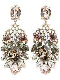 Anton Heunis - chandelier earrings. Gorgeous.