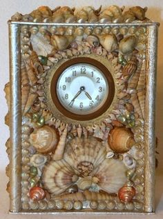 Image result for victorian shell art
