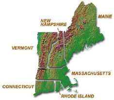 New England states- it would be great to spend summer and fall there