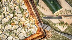 Cuketový koláč z listového těsta se sýrem Quiche, Zucchini, Vegetables, Breakfast, Tableware, Drinks, Essen, Morning Coffee, Drinking