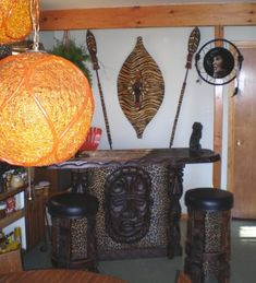 GHOST OF ELVIS (aka Arne) recently scored the fantastic Witco tiki bar for sale on Ebay