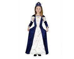 DisfracesMimo, disfraz de dama medieval para niñas.Este comodísimo traje es perfecto para carnavales, espectáculos, cumpleaños y tambien para las fiesta de los colegios.Este disfraz es ideal para tus fiestas temáticas de disfraces de princesas y epoca niñas infantiles.
