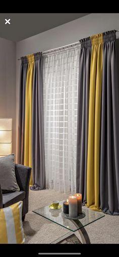 Stunning Modern Curtains Designs To Refresh Your Living Room - Fensterdekoration (Gardinen/Plissee/Rollo) - Living Room Decor Curtains, Home Curtains, Farmhouse Curtains, Rustic Curtains, Linen Curtains, Hanging Curtains, Blackout Curtains, Curtain Ideas For Living Room, Large Window Curtains