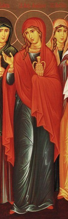 Her daughter had distanced herself from her. Why has her daughter squandered the warmth and comfort the Church offerred; why has she lost her strong, childhood faith? Catholic Art, Catholic Saints, Religious Images, Religious Art, Santa Maria, Images Of Mary, Bible Pictures, Mary Magdalene, Holy Mary