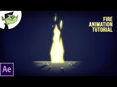 Easy Fire Animation in After Effects - Tutorial - YouTube