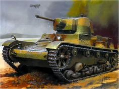 Light Polish tank from the author of Wrobel Jaroslaw. Pin by Paolo Marzioli