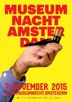 Museumnacht Amsterdam posters pijp