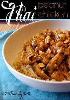 Thai Peanut Chicken -