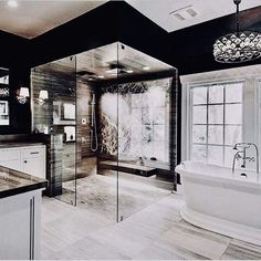 Get inspired by these luxury bathroom ideas and start a new decoration in your home. Luxury pieces and exclusive designs that are going to make your house an even more beautiful place. Design bathroom 100 Must-See Luxury Bathroom Ideas Dream Bathrooms, Dream Rooms, Luxury Bathrooms, Master Bathrooms, Modern Luxury Bathroom, Modern Bathrooms, Mansion Bathrooms, Bathrooms Decor, Bathroom Design Luxury