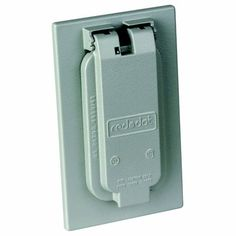 REDDOT 1-Gang Outdoor Weatherproof Cover for Vertical Mount of Duplex Receptacle