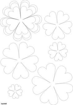 Template flower patterns