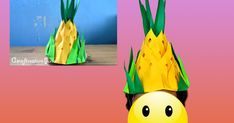 """""""A virtual scrap book for my crafty personal projects and ideas. Feel free to check out my latest offering. Pineapple Hat, Fruit Costumes, Nutrition Month, Colored Paper, Diy Paper, Scrapbook, Crafty, Check, Projects"""