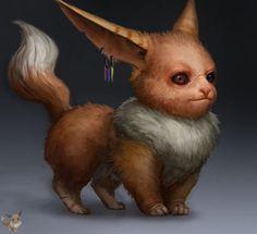 Pokemon Characters by California based artist Gavin Mackey