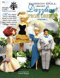 Downloads for Barbie and Fashion Doll Crochet Patterns