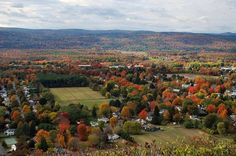 Deerfield and the Mohawk Trail (1000 Places) - Massachusetts, USA