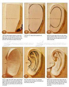 # 2041 Carving Ear - Legno tecniche di intaglio - Intaglio su legno