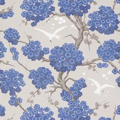 Papier peint - Osborne & Little - Japonerie - Rouge Osborne And Little Wallpaper, 4 Wallpaper, Wallpaper Online, Wallpaper Samples, Wallpaper Ideas, Closet Wallpaper, Beautiful Wallpaper, Pattern Wallpaper, Wallpaper Backgrounds