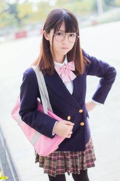 photo School Girl Japan, School Girl Outfit, School Uniform Girls, Girls Uniforms, Japan Girl, Beautiful Japanese Girl, Beautiful Asian Girls, Cute Asian Girls, Cute Girls