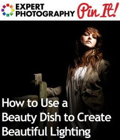 How to Use a Beauty Dish to Create Beautiful Lighting - There are more articles from this link for lighting, good stuff. Photography Lessons, Photography Gear, Photography Business, Light Photography, Photography Tutorials, Amazing Photography, Photography Articles, Portrait Lighting, Photo Lighting
