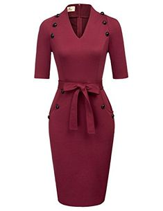 Redshop Women Short Sleeve Leopard Print O Neck Casual Pencil Dress Evening Party Pencil Dress