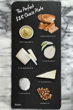 Throw Together a Gorgeous Cheese Plate for Under $25 via @PureWow