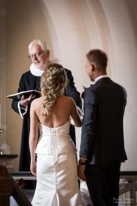 Bryllup Wedding dress hair