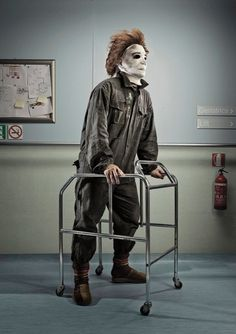 Photos of characters in horror movies, when they are old! These are amazing!