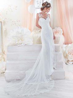 40103d1596 24 awesome Vestidos de novia de corte recto images