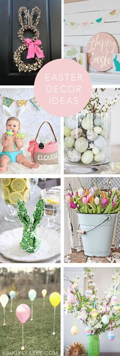 I am loving these Easter Decor Ideas