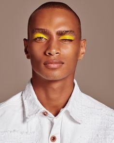 Oh Mondaze✨ Loving this shot of ✨Makeup: showing a little male beauty photography never hurt anybody 💪🏾 Male Makeup, Makeup Art, Beauty Makeup, Makeup For Men, Makeup Geek, Makeup Ideas, Best Beauty Tips, Beauty Hacks, Art Visage