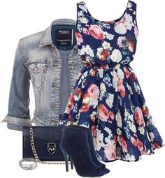 32 Polyvore Casual Dress Outfits for Spring and Summer - Be Modish ...