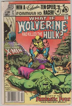What If V1 31. VG Feb 1982.  Marvel Comics. by RubbersuitStudios #wolverine #comicbooks