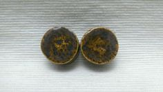 PLUGS GAUGES TUNNELS  13/16 20.5 mm Iron Lustre by CagwinManchen