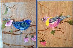 Detalhe do Painel Pássaros