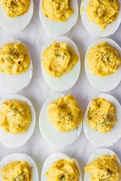 Classic Deviled Eggs - the perfect spring appetizer! A clean-eating version of your classic deviled egg recipe! Whole 30 Snacks, Whole Foods, Whole 30 Lunch, Paleo Whole 30, Egg Recipes, Appetizer Recipes, Whole Food Recipes, Snack Recipes, Healthy Recipes