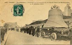#Savoyarde #Cloches #Montmartre #Paris #CartePostaleAncienne #1895 #SAcréCoeur