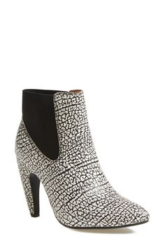 'Calzino' Leather Bootie by Jeffrey Campbell on @nordstrom_rack