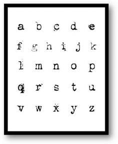 splattered courier font alphabet sign use for crafts/lettering Hand Drawn Fonts, Hand Lettering Fonts, Typography Fonts, Typewriter Font Tattoo, Old Typewriter Font, Alphabet Signs, Font Alphabet, Sign Fonts, Ink Splatter