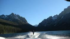 Best place in the world to water-ski!