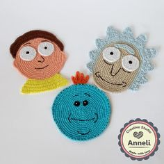 rick and morty crochet ile ilgili görsel sonucu