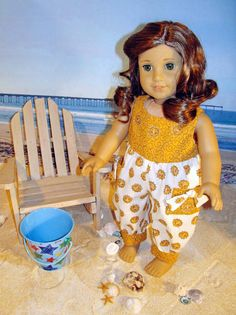 AG Doll Rebecca By the Beautiful Sea by SpecialFriendsByJudy, $14.95