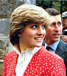 May 22, 1981: Prince Charles & Lady Diana Spencer during the visit to Tetbury, Gloucestershire.