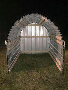 New diy dog pen outdoor goat shelter Ideas Sheep Shelter, Goat Shelter, Horse Shelter, Animal Shelter, Dog Pen Outdoor, Goat Shed, Goat House, Goat Barn, Raising Goats