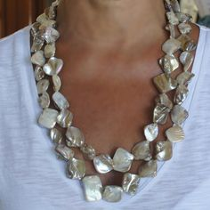 Hey, I found this really awesome Etsy listing at https://www.etsy.com/listing/173938018/mother-of-pearl-necklace-pearl-necklace