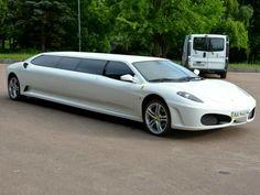 A Ferrari Limousine!
