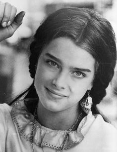 Brooke Shields, pictured here in 1970, still maintains her gorgeous brows today.Photo Credit: Getty Images via StyleList