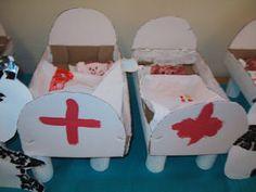 Ziekenhuis / dokter ruimtelijk knutselen » Juf Sanne